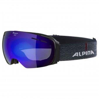 Alpina Granby MM black matt Skibrille