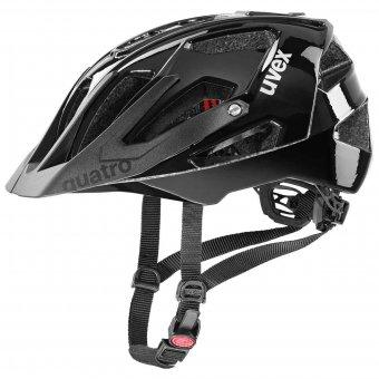 Uvex Quatro Fahrradhelm all black | 56 - 61 cm